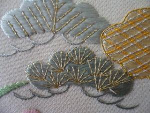日本刺繍 飾り縫い4