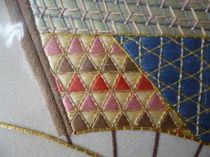 日本刺繍 飾り縫い2