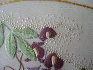 日本刺繍 芥子縫い
