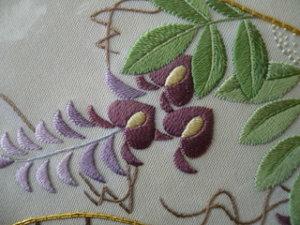 日本刺繍技法 拝み縫い