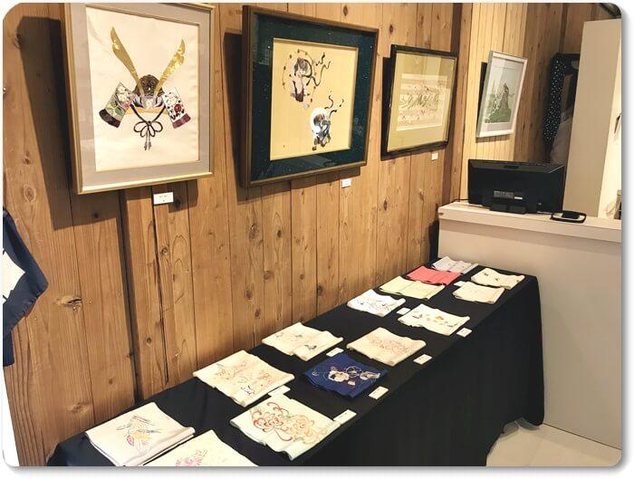 日本史集教室展示会