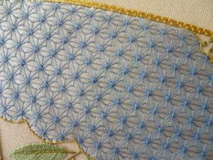 日本刺繍 飾り縫い