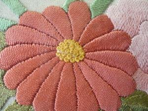 日本刺繍技法 縫い切り