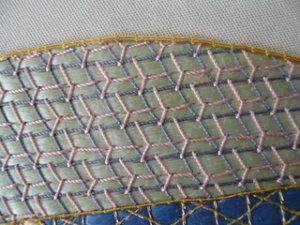 日本刺繍 飾り縫い1