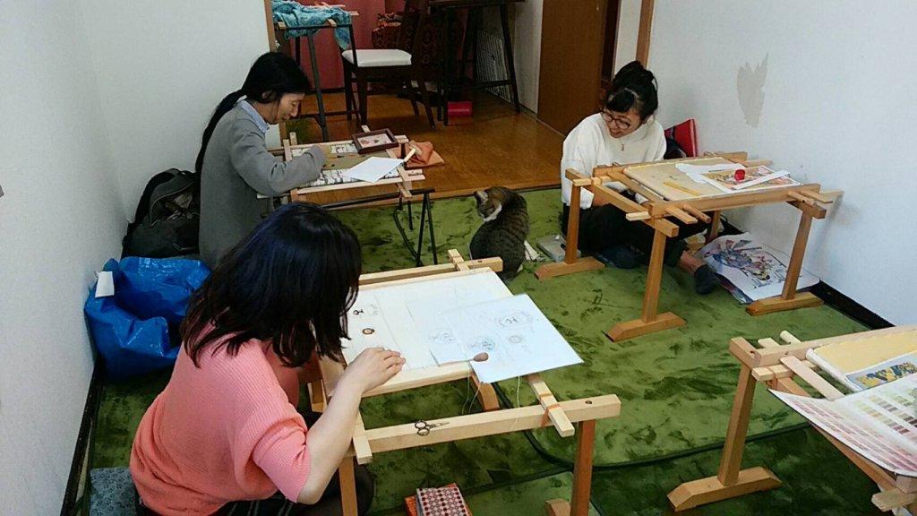 日本刺繡教室